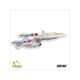 Future USS Enterprise Star Trek The Next Generation 2007 Hallmark Ornament