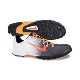 Nike Zoom Waffle XC VII Cross Country Running Spike Shoes White,Orange,Gray Unisex 12.5