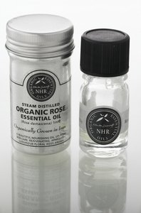 Organic Rose Essential Oil - Otto (Rosa damascena) (1 litres (£7547.00/litre)) by NHR Organic Oils
