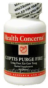 Coptis Purge Fire 90 Tablets by Health Concerns