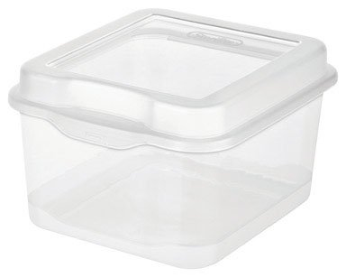 Sterilite Small Flip Top Storage Box, Pack of 12