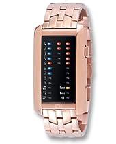 01TheOne Ibiza Ride Binary System Black Dial Unisex watch #IR802RB2