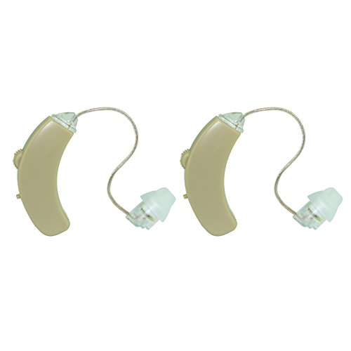Apalus High Quality Digital Ear Hearing Amplifier, the Best T-coil Hearing Amplifier, Telecoil Hearing Loop Installed, Digital Volume Control, Left/right Ear Adjustability, Discreet Invisible, Lightweight 2 Pack