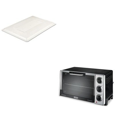Kitdloro2058Rcp3302Cle - Value Kit - Rubbermaid-Lids For All 18 X 26 Food Boxes (Rcp3302Cle) And Delonghi Convection Oven W/Rotisserie (Dloro2058)
