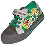 Jungle Childrens Canvas Trainers