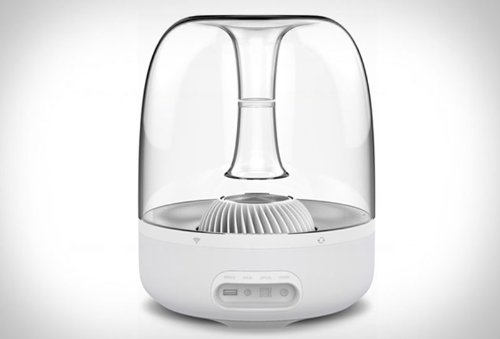 Harman Kardon Aura Wireless Stereo Speaker System (White)