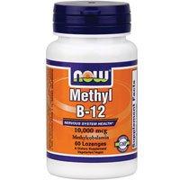 Methyl B-12, 10,000 Mcg, 60 Lozenges (Pack Of 2)