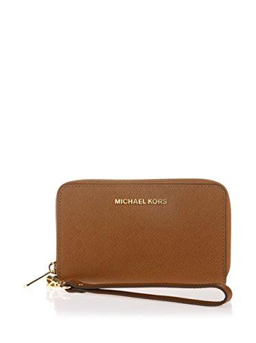 Michael Michael Kors Jet Set per cellulare colore: nero Brown Taglia unica