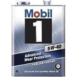 モービル モービル1 5W-40 SN A3/B3,A3/B4 化学合成油 4L×6