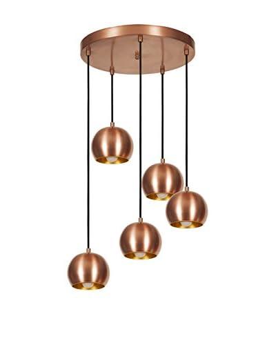 Light&Design Lámpara De Suspensión Cobre/Oro