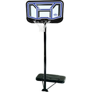 Lifetime - Canestro da basket 111,76 cm, infrangibile Fusion-G-Abete, con regolazione da 19 a 25,5 cm, con base portatile