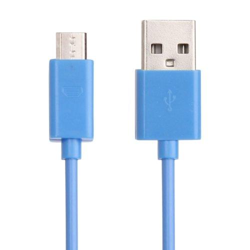 1 x Samsung Galaxy S3 Datenkabel / Ladekabel / S 3 / S3 Mini - Micro USB / Premium Kabel in blau - 1 Meter - von THESMARTGUARD
