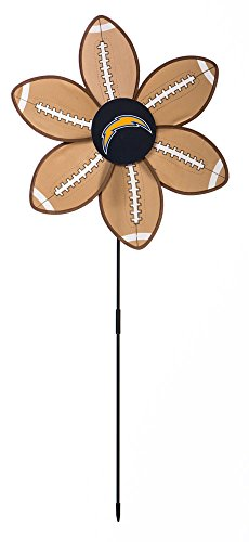 San Diego Chargers Logo Football Garden Wind Spinner