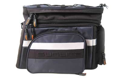 Sunlite RackPack Large with Pannier, 2011 Model, Black/Gray