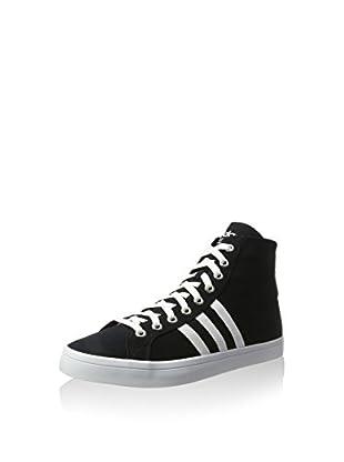 adidas Zapatillas abotinadas Courtvantage Mid (Negro / Blanco)