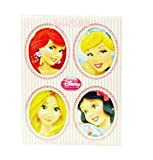 Disney Princess Eau De Toilette Mini Set with Ariel, Cinderella, Rapunzel and Snow White