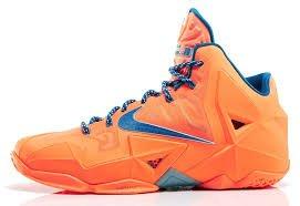 Lebron 11 XI Atomic orange NYC Knicks Size 13