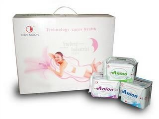 Anion Sanitary Napkins Day Use