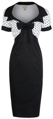 Lindy Bop 'Laney' Chic Vintage 1950′s Style Pencil Wiggle Dress