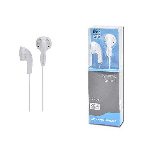 Sennheiser Mx400 ii White In-ear Headphone Dynamic Sound