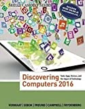 img - for Discovering Computers 2016 1st Edition (Not Textbook, Access Code Only)by Susan L. Sebok, Mark Frydenberg book / textbook / text book