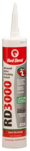 red-devil-0990-rd-3000-advanced-gutter-flashing-sealant-white-90-ounce-by-red-devil