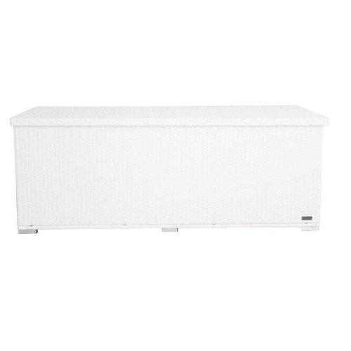 Outflexx Kissenbox Polyrattan groß w29, weiß kaufen