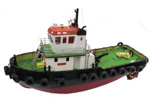 Hobby Engine Remote Control Atlantic Tug Boat