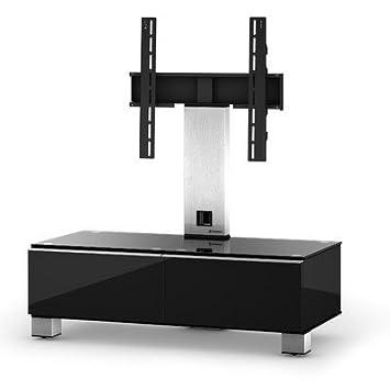 """Sonorous MD 8095-C-INX-BLK Schwarz TV-Möbel fur 40"""" Fernseher"""