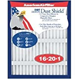 "American Air Filter 222-375-051 14"" X 25"" X 1"" Dust Shield Air Filter (12 Pack)"