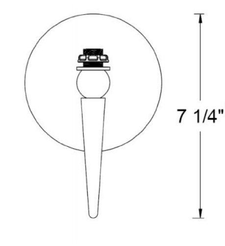 Techniks CAT50 3//4 Rigid Reach Holder 7.25 Length