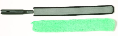 Rubbermaid Commercial FGQ85000 Hygen Quick-Connect Flexible Dusting Wand with Microfiber Sleeve, 28.75-Inch Length x 3.25-Inch Width x 1.5-Inch Height, Black