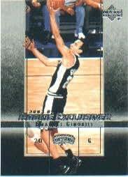 2003-04 Upper Deck Rookie Exclusives #38 Manu Ginobili