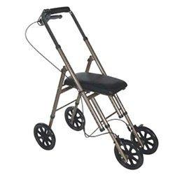 Rolling Knee Walker Leg Ankle Foot Crutch Caddy