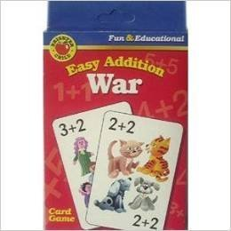 Brighter Child Easy Addition War (Fun & Educational Card Game)