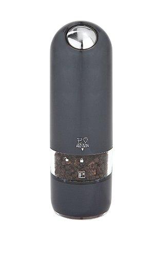 Peugeot 2/28503 Alaska Duo Salzmühle und Pfeffermühle, 17 cm im Geschenkkarton, quarzgrau