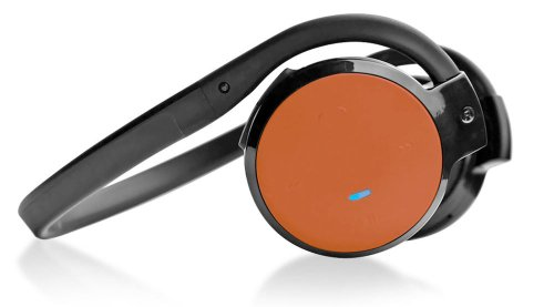 Pyle Home Phbt5O Stereo Bluetooth Streaming Wireless Headphones With Call Answering And Built-In Microphone, Orange