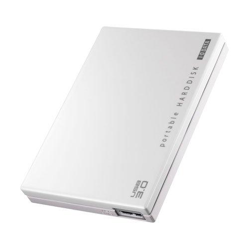 アイ・オー・データ機器 ポータブルHDD 超高速カクうす ホワイト 500GB