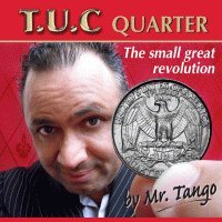 Tango Ultimate Coin (T.U.C) Quarter Dollar with instructional DVD by Tango