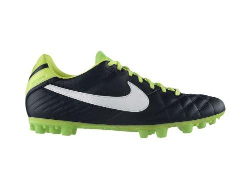Nike Tiempo Mystic Iv Ag (Black/Electric Green/White) (7.5)