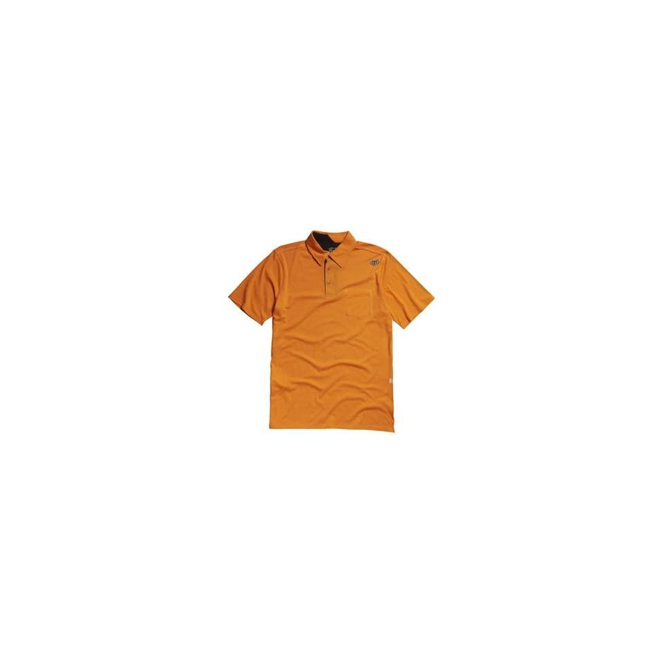 Fox Racing Outfoxed Polo   Small/Day Glo Orange