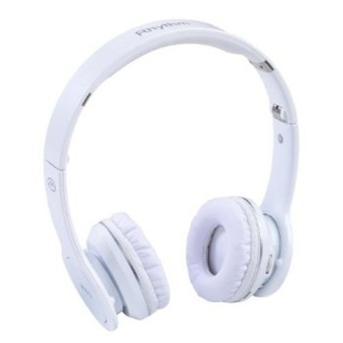 MIIKEY Wireless Rhythm Stereo Bluetooth Headphones for iPhone - Bluetooth Headset - Retail Packaging - White MIIKEY Bluetooth Headsets autotags B006Z940P6