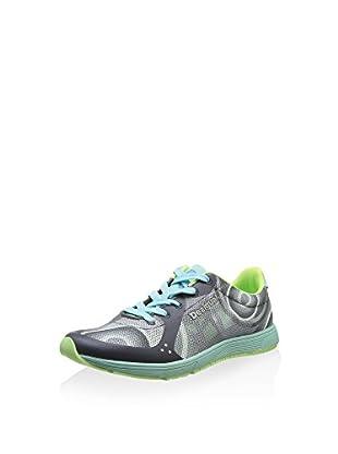 Desigual Zapatillas Libertad (Gris / Verde Agua)