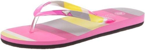 Roxy Women's Bianca Hot Pink Flip Flops XMWSL223