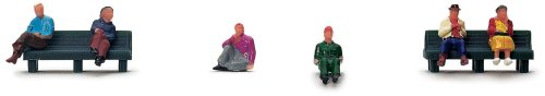 Hornby R561 00 Gauge Skaledale People Sitting Kits People