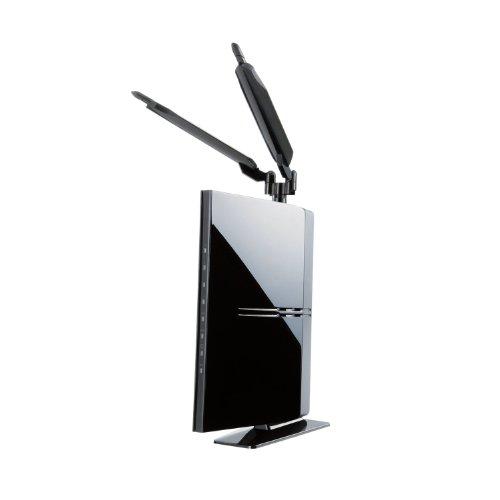 Logitec ハイパワー無線LANルータ 300Mbps Giga 11a/n/g/b プリンタ共有【スマホからも簡単設定】LAN-WH300AN/DGP