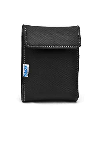Saco Hard Disk Wallet For Seagate Expansion 1TB Portable External Hard Drive - Black