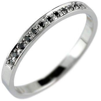 Atrus【アトラス工房】エンゲージリング ダイヤリング シルバー925 ブラックダイヤモンド 0.06ct リング 指輪 結婚記念 リング 指輪 11号