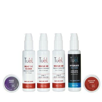 Tu'El Anti Aging Travel Skin Care Pack 6 Pc Set
