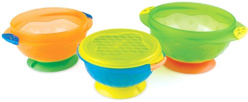 Sale!! Munchkin Stay Put Suction Bowl, 3 Count